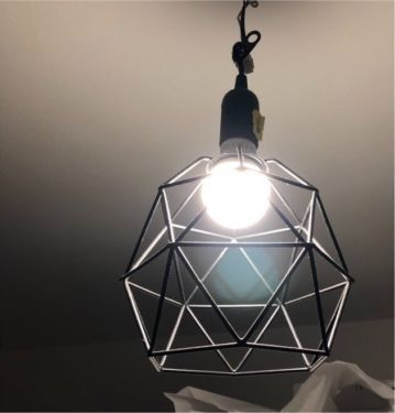 Светильник под лофт икеа