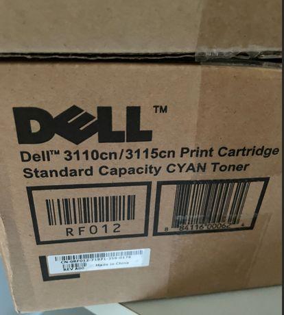 Tinteiro Toner impressora multifunções Dell 3110cn / 3115cn RF012 Cyan