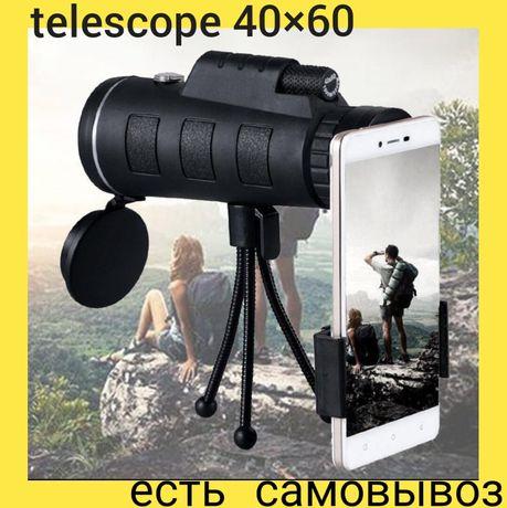 Монокуляр,40×60, телескоп, подзорная труба, бинокль, панда