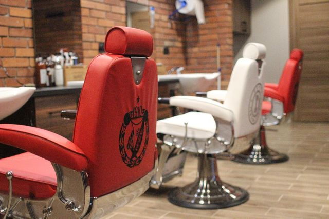 Stanowisko barberskie/salon