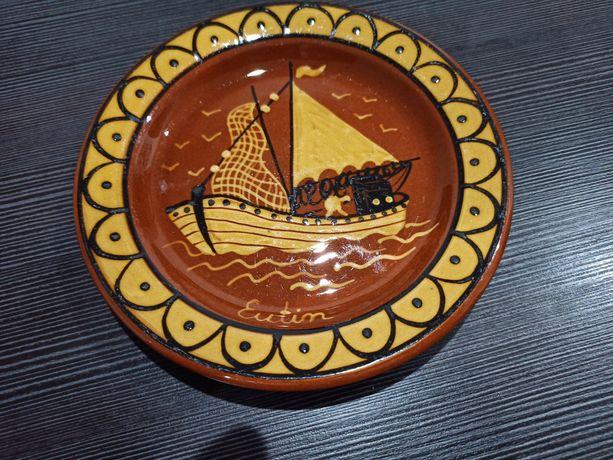 Kolekcjonerski talerz  dekoracyjny