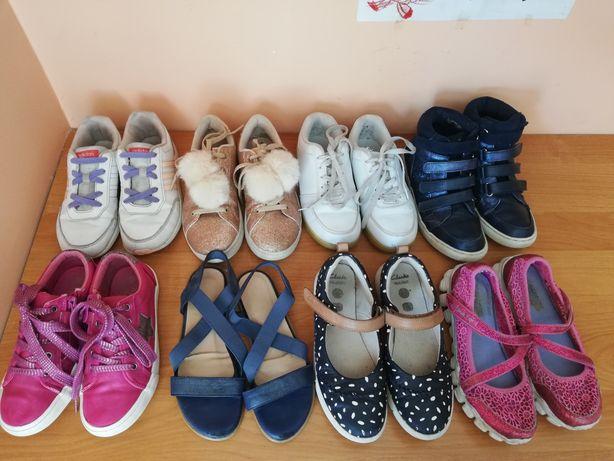 Buty Clarks, Adidas, Skechers 34-35