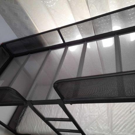 Beliche de metálico cinza escuro ikea