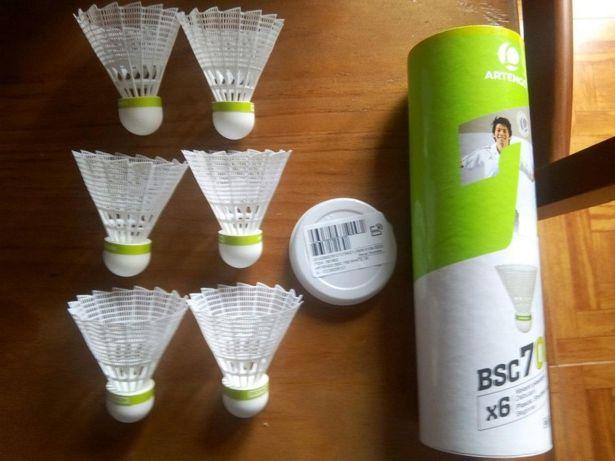 Volante de badminton BSC700 medio , ARTENGO