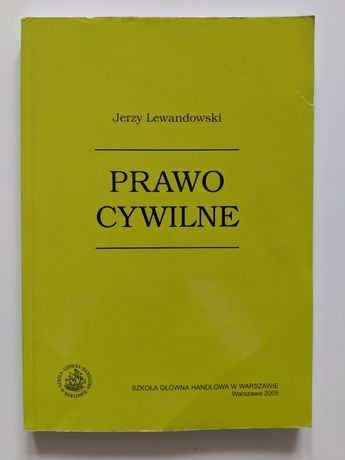 Prawo cywilne, Jerzy Lewandowski