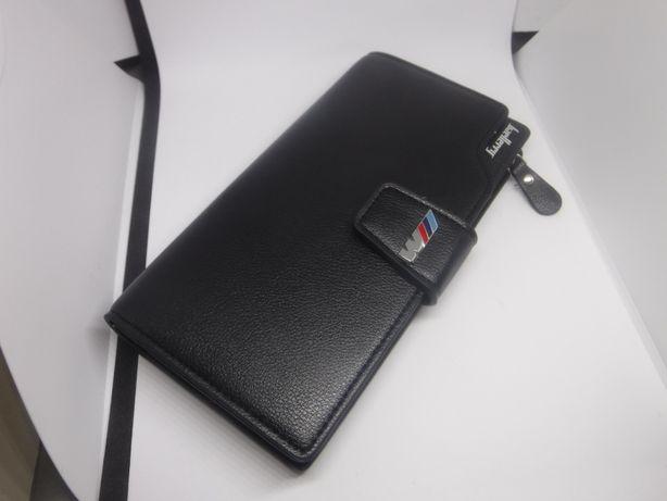 BMW DUŻY portfel NOWY skórzany