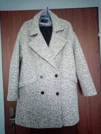 Płaszcz szary Reserved S 36 zimowy