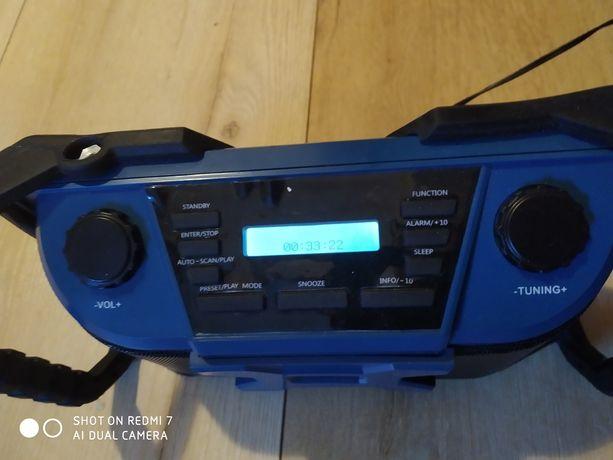 Radio budowlane DAB+ Bluetooth USB MP3