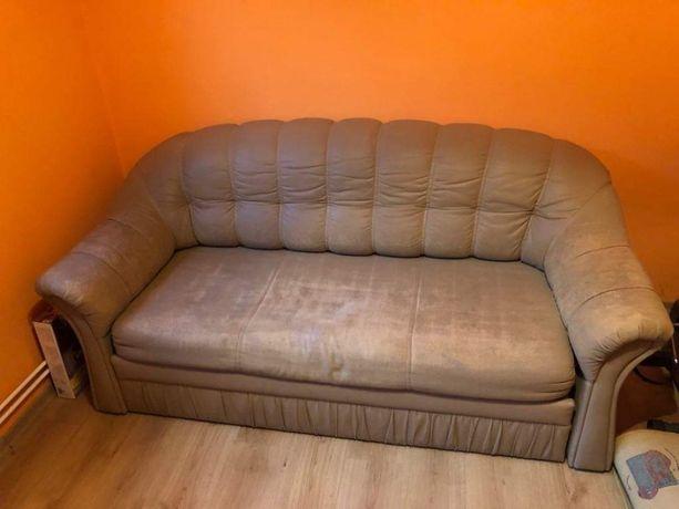 Zestaw kanapa i 2 fotele