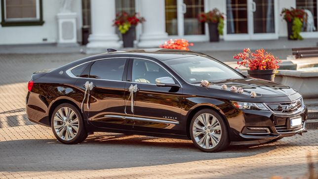 Chevrolet Impala LTZ, auto do ślubu, limuzyna WOLNE TERMINY 2021/2022