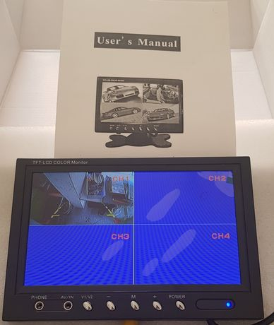 Monitor + 4 cameras