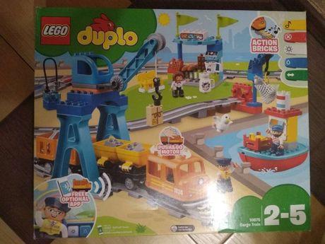 Конструктор LEGO Duplo 10875 Cargo Train Лего грузовой поезд