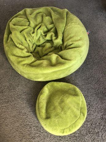 Pufa worek zielona