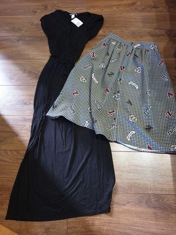 Sukienka hm spódnica zara s