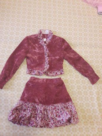 Костюм, юбка, пиджак