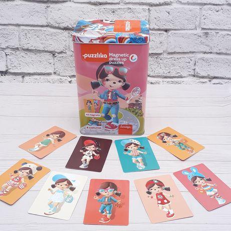 """PUZZLIKA магнитные пазлы """"Куклы"""",развивающие игрушки"""