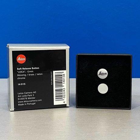 LEICA 12mm Soft Release Button (Chrome) - Botão disparador