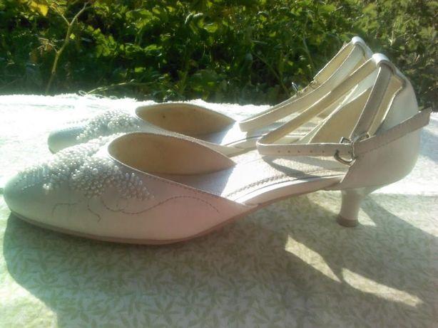Туфли белые Италия