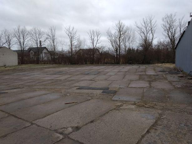 Utwardzony plac 700 m2, Błonie, TIR, dozór, A2, PKP, do wynajęcia