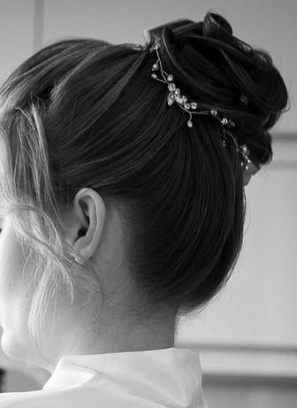 Ślubna ozdoba do włosów NOVIA BLANCA