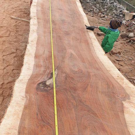 Monolit stół jesion dąb orzech blat drewniany drzewo live edge wood