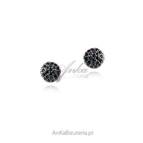 ankabizuteria.pl kwarc różowy pierścionek Kolczyki srebrne pozłacane r