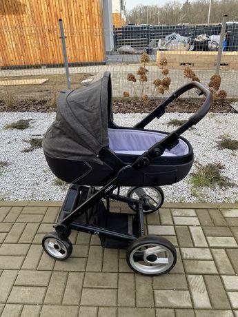 Wózek Mutsy i2, gondola, spacerówka + dodatki
