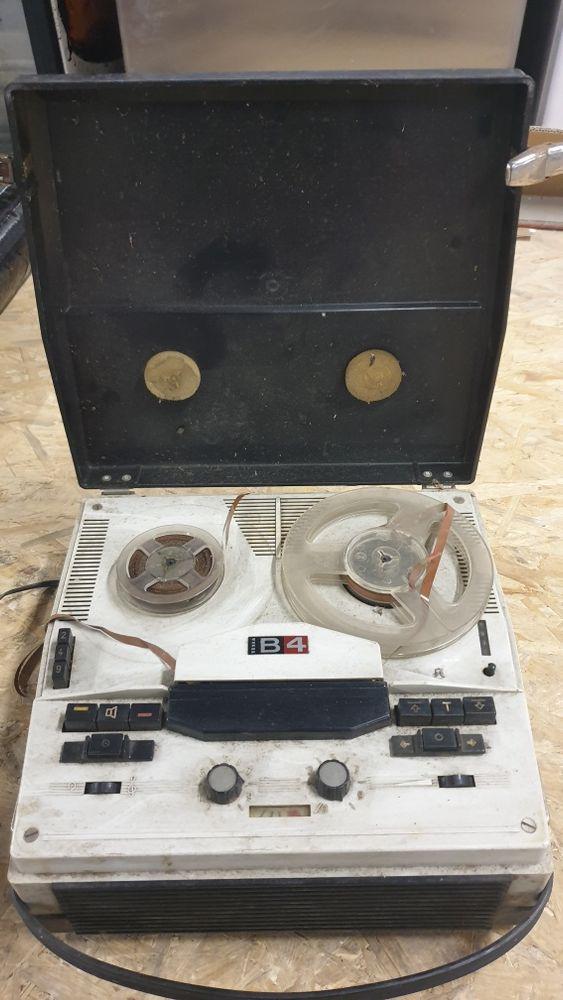 Magnetofon Tesla b4 PRL kolekcja Nowy Dwór Mazowiecki - image 1