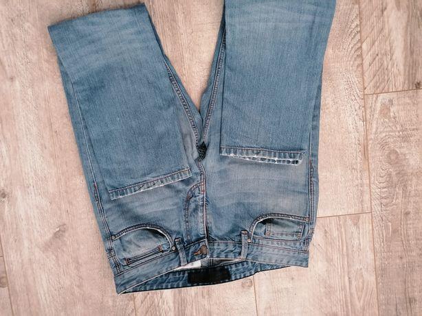 Męskie spodnie jeansy