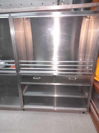 estante para pão em INOX