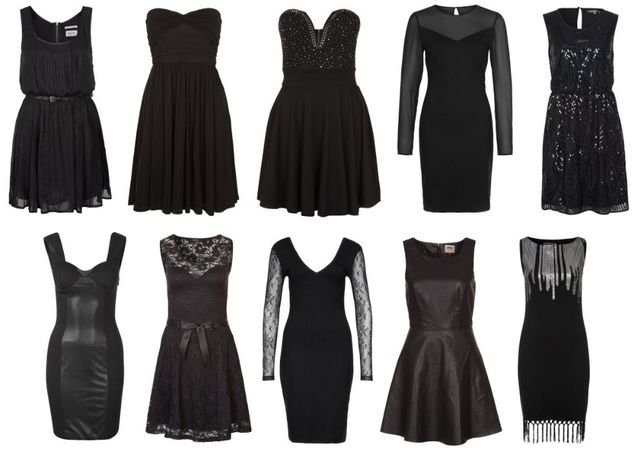 Dez vestidos pretos novos Tam S!!