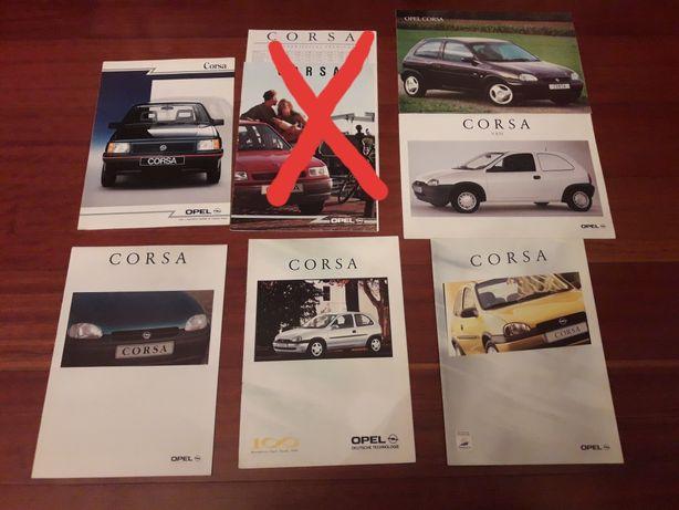 Opel Corsa A / B - Catálogos
