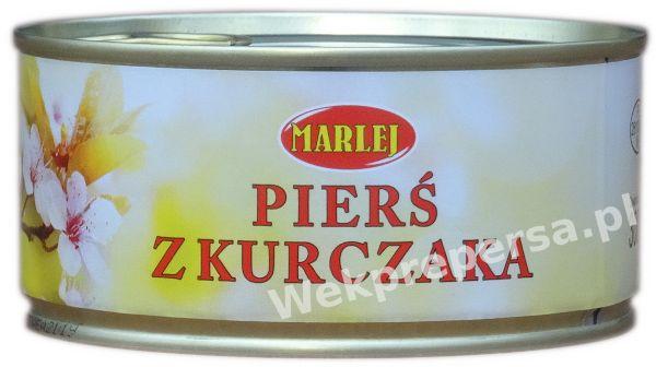 Konserwa Pierś z Kurczaka.Produkt Polski.Wysyłka Kurier