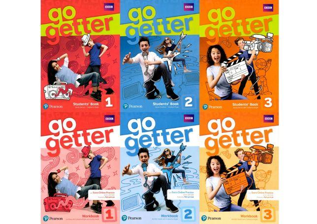 Go Getter 1, 2, 3 комплект: Student's Book + Workbook
