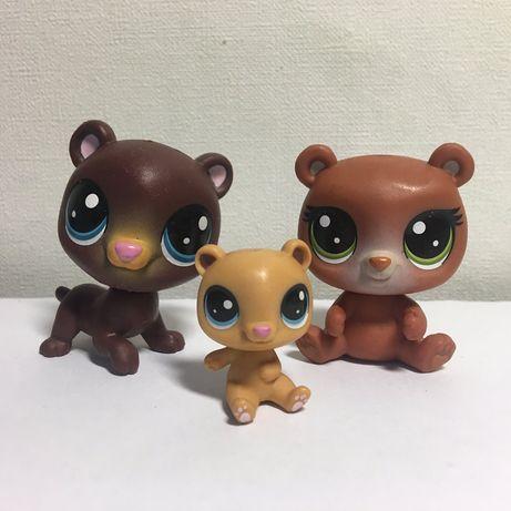 Продам LPS Hasbro. Littlest Pet Shop семья медведей