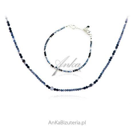 ankabizuteria.pl jubiler schubert bransoletki Komplet biżuteria srebrn