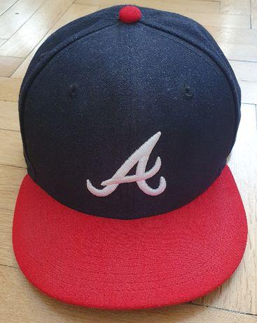 NEW ERA 59FIFTY Atlanta Braves, full cap, czarna 7 1/2 , 59,6cm MLB
