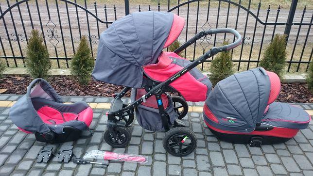 Wózek dziecięcy VERDI PEPE ECO 3W1, gratisy