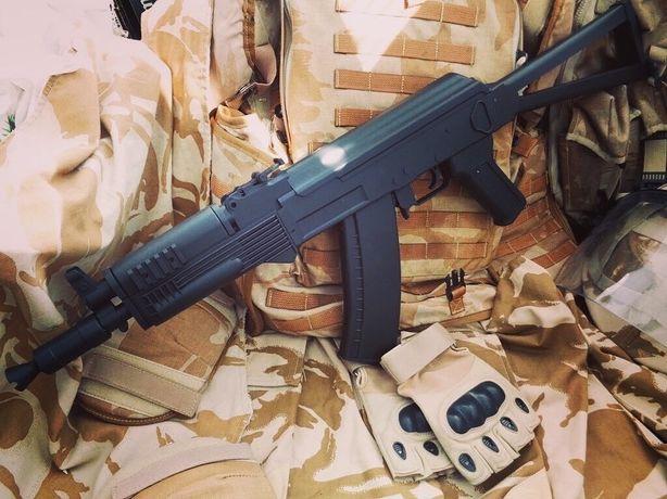 Страйкбольный автомат АКС 47 Tactical AirSoft спринговый