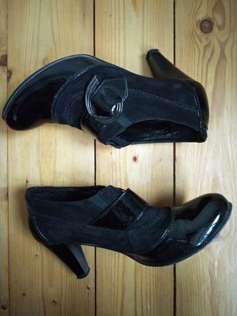 Туфлі жіночі лак туфли женские