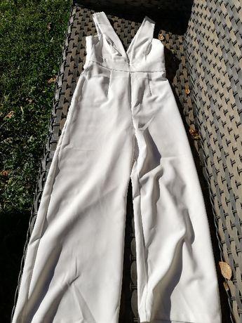 Kombinezon biały Asos 36/ 38 S/ M