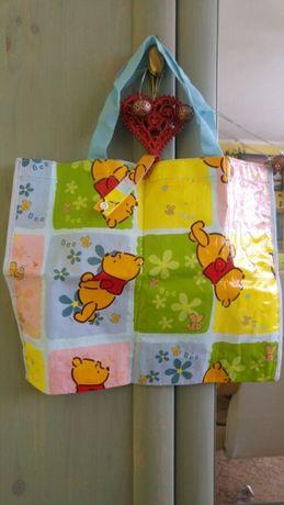 Kubuś Puchatek mała ekologiczna torba na zakupy