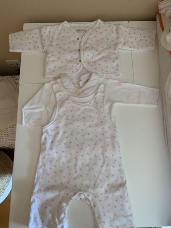 Conjunto bebé Laranjinha 6m - 25€ - Excelente estado