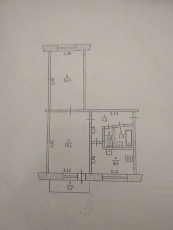 2-х комнатная квартира в г. Першотравенск, продам