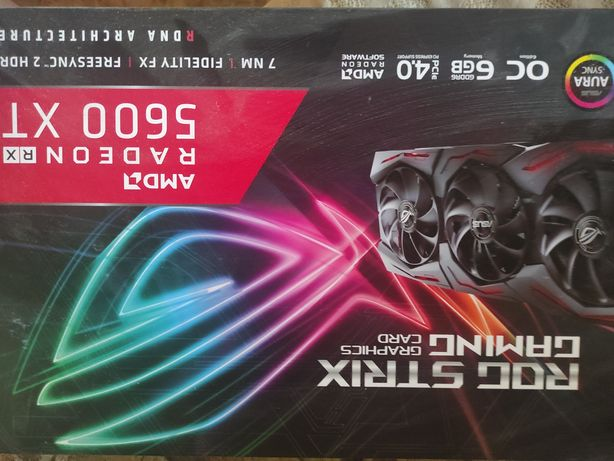 RX5600XT Rog strix gaming
