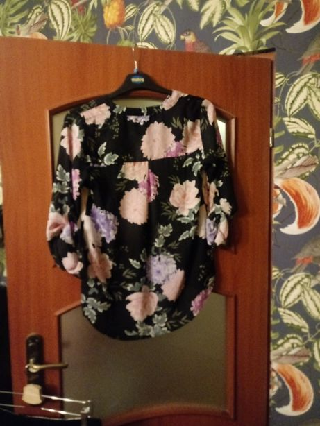 Bluzka w kwiaty New York