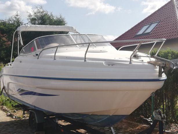 Łódź motorowa kabinowa, Jacht Ranieri Sea Lady 23, 8 osobowa,