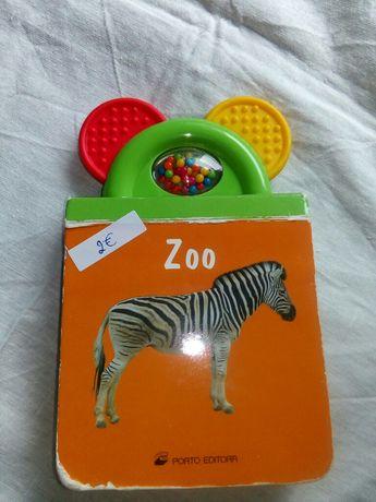 Livro Zoo. Porto Editora.