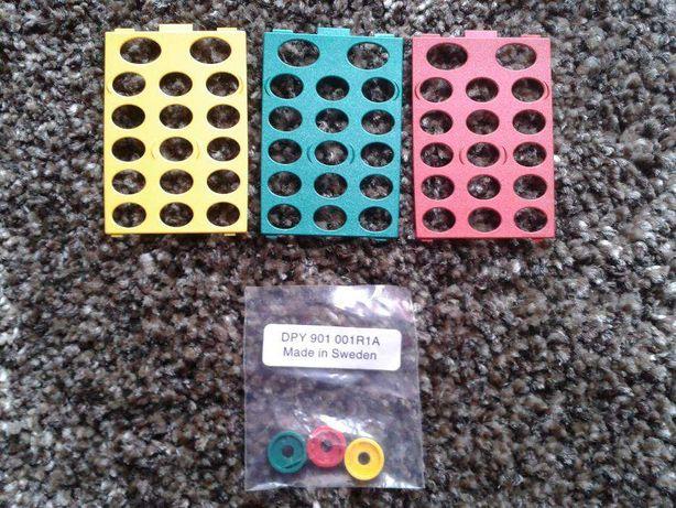 Conjunto 3 películas / capas para telemóvel Ericsson GA628 - Novas