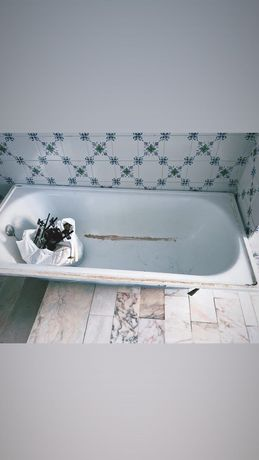 Banheira WC usada